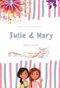 """Cubierta del libro """"Julie & Mary"""""""