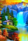 """Обложка книги """"Волшебный мир, или Алексей с планеты Земля."""""""