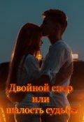 """Обложка книги """"Двойной спор или шалость судьбы"""""""
