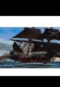 """Обложка книги """"Чёрный корабль"""""""