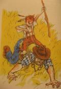 """Обложка книги """"Вождь  краснокожих"""""""