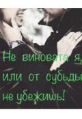 """Обложка книги """"Не виновата я или от судьбы не убежишь?"""""""