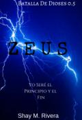 """Cubierta del libro """"Zeus ©"""""""