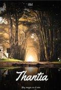"Cubierta del libro ""Thantia"""