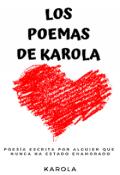 """Cubierta del libro """"Los poemas de Karola"""""""