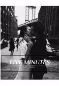 """Обложка книги """">> Пять минут"""""""