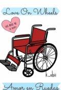 """Cubierta del libro """"Amor en Ruedas"""""""