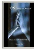 """Cubierta del libro """"20 Días en Linea."""""""