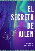 """Cubierta del libro """"El Secreto De Ailen ⚡"""""""