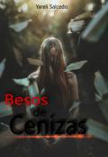 """Cubierta del libro """"Besos de Ceniza"""""""