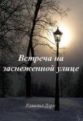 """Обложка книги """"Встреча на заснеженной улице"""""""