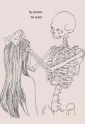 """Обложка книги """"Сказка о Скелете его невесте да сатанисте"""""""