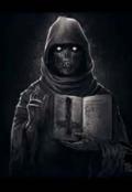 """Обложка книги """"Сторонник тьмы"""""""