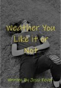 """Book cover """"Weather You Like it or Not"""""""