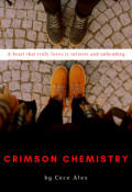 "Book cover ""Crimson Chemistry"""