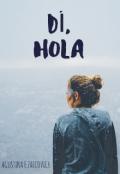 """Cubierta del libro """"DÍ, Hola"""""""