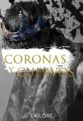 """Cubierta del libro """"Coronas y Cuervos"""""""