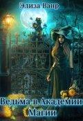"""Обложка книги """"Ведьма в Академии Магии"""""""