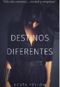 """Cubierta del libro """"Destinos diferentes"""""""