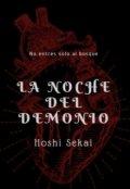 """Cubierta del libro """"La noche del demonio ©"""""""