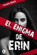 """Cubierta del libro """"El enigma de Erin (serie: Voces silenciosas 01)"""""""