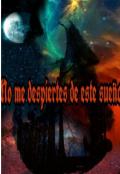 """Cubierta del libro """"No me despiertes de este sueño"""""""