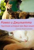 """Обложка книги """"Ромео и Джульетта. Грустная история двух кошек."""""""