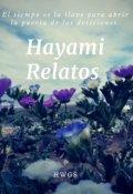 """Cubierta del libro """"Hayami-Relatos"""""""