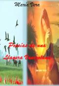 """Cubierta del libro """"Poesias de Una Llanera Venezolana"""""""