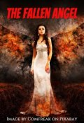 """Book cover """"The Fallen Angel"""""""