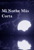 """Cubierta del libro """"Mi Noche Más Corta"""""""