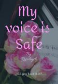 """Cubierta del libro """"My voice is safe"""""""