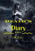 """Cubierta del libro """"Death's Diary"""""""
