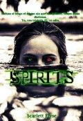 """Cubierta del libro """"Spirits"""""""