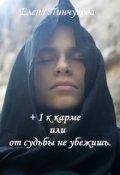 """Обложка книги """"+1 к карме или от судьбы не убежишь."""""""