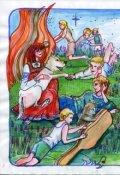 """Обложка книги """"Сказы долины Сияющих духов"""""""