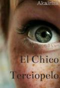 """Cubierta del libro """"El Chico Terciopelo"""""""