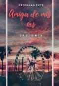 """Cubierta del libro """"Amiga de mis exs"""""""