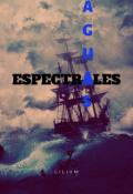 """Cubierta del libro """"Aguas Espectrales - Microrrelato"""""""