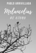 """Cubierta del libro """"Melancolías de Otoño """""""