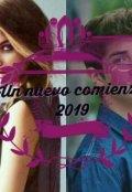 """Cubierta del libro """"Un nuevo comienzo 2019"""""""