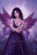 """Обложка книги """"Темная фея для оборотня."""""""