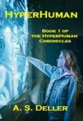 """Book cover """"Hyperhuman"""""""