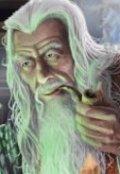 """Обложка книги """"Сказка о старом колдуне"""""""