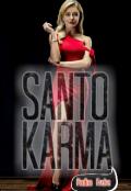 """Cubierta del libro """"Santo Karma"""""""