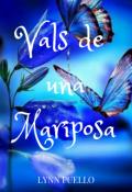 "Cubierta del libro ""vals de una mariposa"""