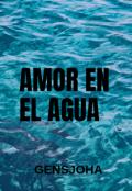 """Cubierta del libro """"Amor en el agua"""""""