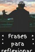 """Cubierta del libro """"Frases para Reflexionar """""""