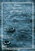 "Cubierta del libro ""Lluvia"""
