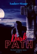 """Book cover """"Dark Path"""""""
